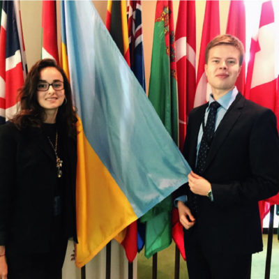 Ukrainian Youth Delegates to the UN